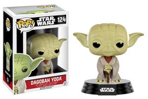 Star Wars POP! 124 Bobble Head Dagobah Yoda Funko