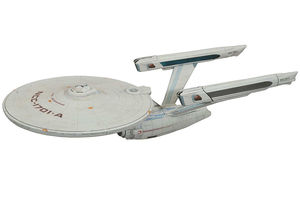 Star Trek 6 Terre inconnue réplique USS Enterprise NCC-1701-A Diamond Select