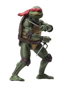 Les Tortues ninja figurine Raphael TMNT 1990 movie Neca