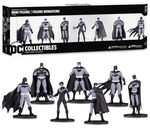 Batman Black & White pack 7 figurines PVC Box Set #1 DC Collectibles