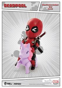 Marvel Comics figurine Mini Egg Attack Deadpool Pony Licorne Beast Kingdom