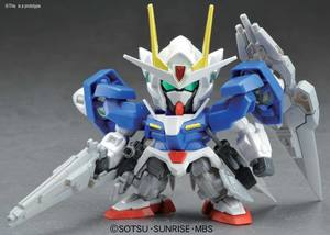 Gundam Build OO SEVEN SWORD/G SD Gundam BB Senshi Vol. 368 BANDAI