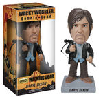The Walking Dead Wacky Wobbler Bobble Head New Biker Daryl Funko