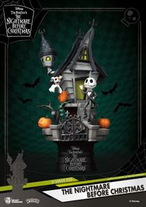L´étrange Noël de Mr. Jack diorama PVC D-Stage Jack's Haunted House Beast Kingdom