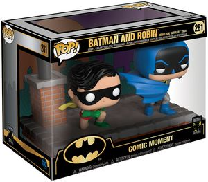 Batman 80th pack 2 POP Moment! Vinyl figurines Look Batman & Robin (1964)