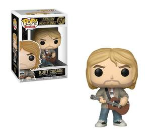 Nirvana POP! Rocks 67 Figurine Kurt Cobain MTV Unplugged Exclusive Funko