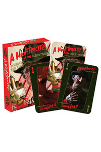 NIGHTMARE ON ELM STREET Freddy Jeu de 52 cartes