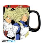 DRAGON BALL - Mug Premium - 460 ml - Saiyans vs Cyborgs Abystyle