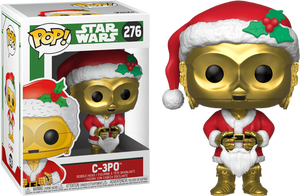 Star Wars POP! 276 Bobble Head Holiday Santa C-3PO