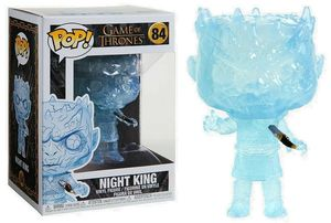 Game of Thrones POP! 84 Television Vinyl figurine Crystal Night King w/Dagger in Chest Funko