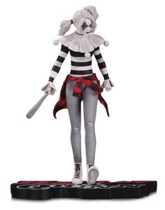 DC Comics Red, White & Black statuette Harley Quinn by Steve Pugh DC Collectibles