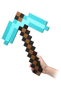 Minecraft réplique mousse 1/1 Diamond Pickaxe ThinkGeek