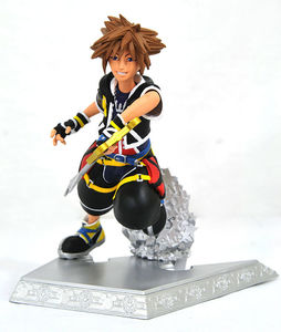 Kingdom Hearts Gallery Sora Statue Diamond Select
