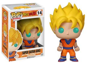Dragon Ball Z POP! 14 figurine Super Saiyan Son Goku Funko