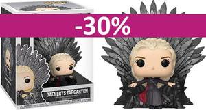 Game of Thrones POP! Deluxe Vinyl figurine Daenerys on Iron Throne  Funko