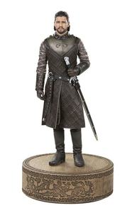 Game of Thrones statue Jon Snow Dartk Horse