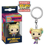 Les Anges de la nuit porte-clés Pocket POP! Vinyl Harley Quinn (Caution Tape) Funko