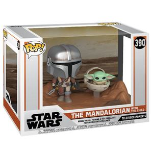 The Mandalorian pack 2 POP Moment! Vinyl figurines Mandalorian & Child Funko