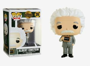Albert Einstein POP! Icons 26 Vinyl figurine Albert Einstein FUNKO