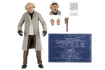 Retour vers le futur figurine Ultimate Doc Brown NECA