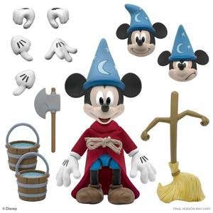 Disney figurine Ultimates Sorcerer's Apprentice Mickey Mouse Super 7