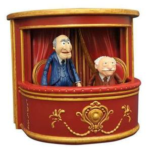 The Muppets Select série 2 pack 2 figurines Statler & Waldorf Diamond Select