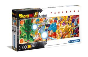 Dragon Ball Super Puzzle 1000 pcs Panorama Characters Clementoni
