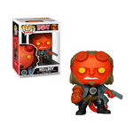 Hellboy Figurine POP! Movies Vinyl Hellboy with BPRD Tee Funko