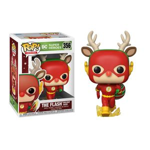DC Comics POP! Heroes Vinyl figurine DC Holiday: The Flash Holiday Dash Funko