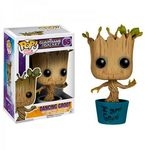 Les Gardiens de la Galaxie POP! Vinyl Bobble Head I am Dancing Groot Funko