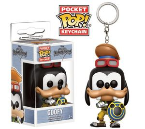 Kingdom Hearts porte-clés Pocket POP! Vinyl Goofy Funko