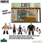 Popeye figurines 5 Points Deluxe Box Set 9 Mezco