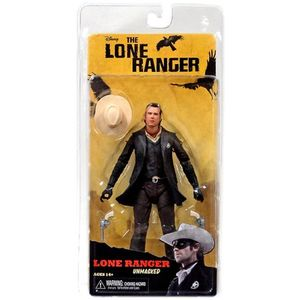 The Lone Ranger unmasked série 2 figurine Deluxe Neca