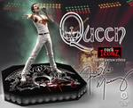 Queen statuette Rock Iconz Freddie Mercury Limited Edition Knucklebonz