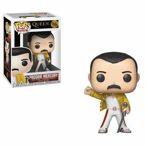 Queen POP! Rocks Vinyl Figurine Freddy Mercury Wembley 1986 Funko