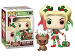 DC Comics POP! & Buddy Vinyl figurine DC Holiday: Harley Quinn with Helper Funko