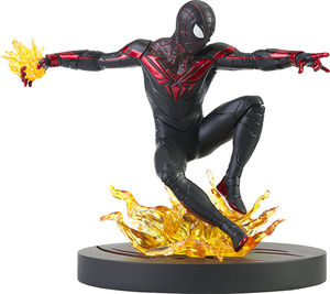 Marvel Gallery PS5 statue Miles morales Diamond Select
