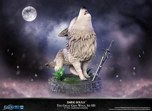 Dark Souls statuette PVC SD The Great Grey Wolf Sif First 4 Figures F4F