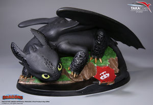 Dragons statue Krokmou Toothless 1/8 Taka Corp