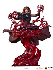 WandaVision statuette 1/10 Deluxe Art Scale Scarlet Witch Iron Studios