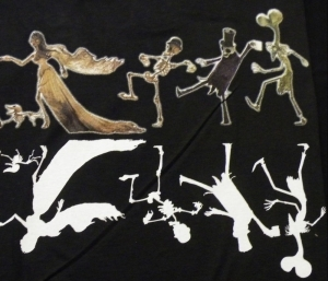 T-shirt CORPSE BRIDE : DANCE ! EN STOCK