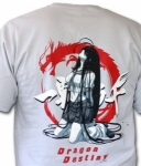 T-shirt Ikki Tousen DD Kanu on her knees EN STOCK
