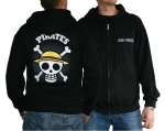 Sweat capuche Skull with map One piece ABYstyle