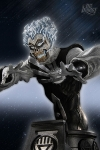 Blackest Night Black Lantern FIRESTORM Buste Heroes Of The Dcu