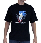 "SONIC - T-shirt ""Too Slow"" homme Abystyle"