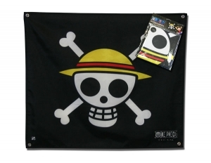ONE PIECE - Drapeau Skull - Luffy (50x60) ABYstyle