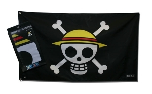 ONE PIECE - Drapeau Skull - Luffy (70x120) ABYstyle