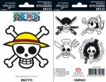 One Piece - Stickers - 16x11cm/ 2 planches - Pirates Flag ABYstyle