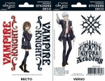 Vampire Knight - Stickers - 16X11Cm/ 2 Planches - Yuki/ Zero ABYstyle