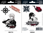 Vampire Knight - Stickers - 16x11cm/ 2 planches - Zero/ Kaname ABYstyle